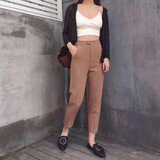 🔺BN🔺Pocketed Pencil Leisure Pants