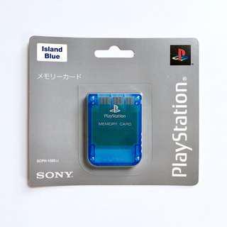 Original Playstation 1 Memory card