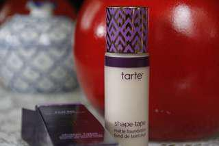 Tarte Shape tape matte foundation in Fair Sand