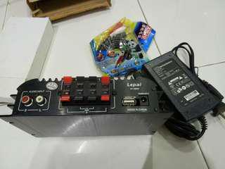 Mini hi-fi amplifier full set (home use)