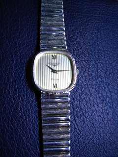 浪琴女裝電子純銀925錶