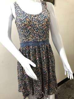 Floral dress dress bunga