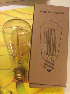 燈泡 Antique Edison Blue ST64