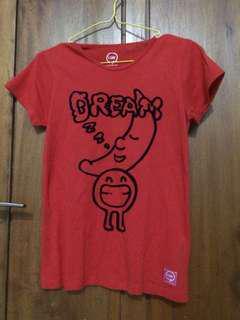 Graphi Tshirt Giordano Merah Baju