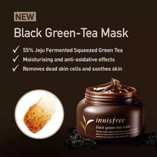 Innisfree Black Green-tea Mask