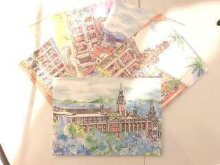 HKU Postcard Set