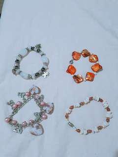 Bracelets (P75/each)
