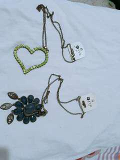 Brand New Necklaces (P100/each)