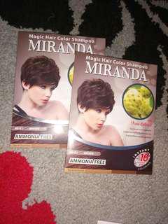 Miranda magic hair colour shampoo