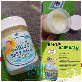 Garlic balm for baby