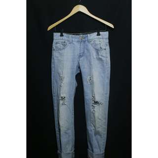 Tattered denim pants ▪ size 27-28 ▪ never used and in excellent condition ▪