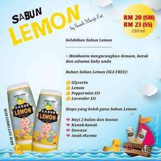 Lemon bath
