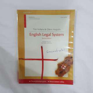 Concentrate English Legal System