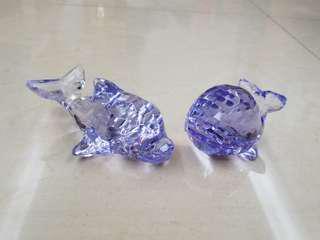冒險樂園水晶 namco 一套淺紫色