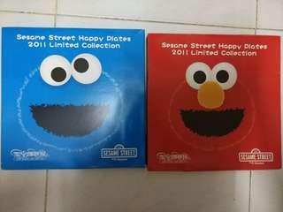 Sesame Street Happy Plates