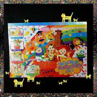 🛸🤺日本🇯🇵 正版 迪士尼🏰 皮克斯 玩具總動員 DIY 便條紙📃卡片紙 生日卡🎁