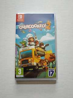 Overcooked 2 Nintendo Switch 任天堂