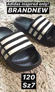 Adidas Inspired Slip Ons
