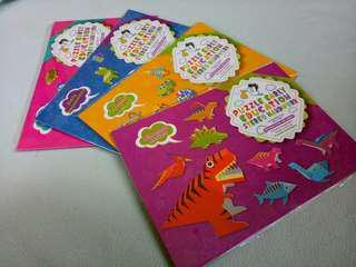 3D Paper Puzzle Book
