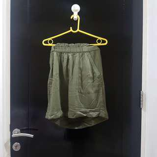 Army skirt with pocket