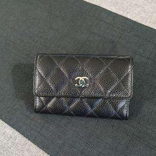 Chanel Cardholder in Caviar and SHW