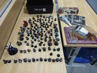 D&D dungeons and dragons set
