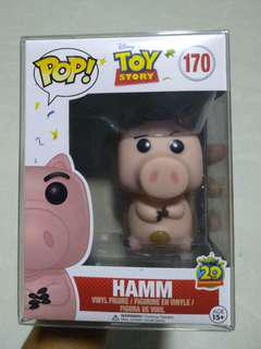 Funko Pop Toy Story Hamm with Pop Protector