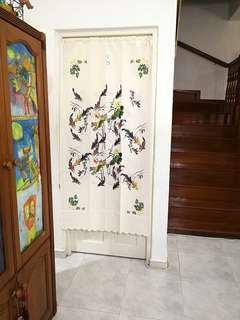 In Stock 85X170cm Japanese Door Curtain Partition FengShui