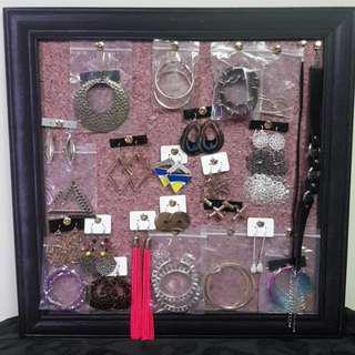 耳環一堆$50~$100