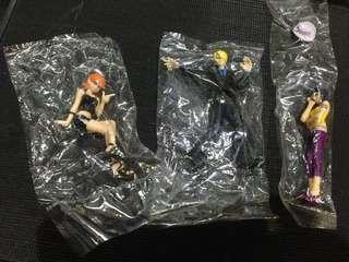 One Piece (nami,sanji & nico) set of 3