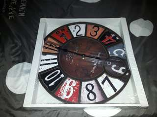 Brand new clocks