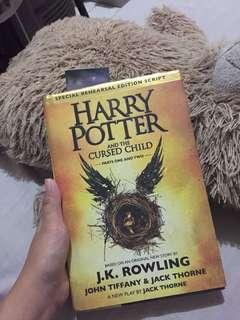 Harry Potter (Cursed Child) original Hardbound