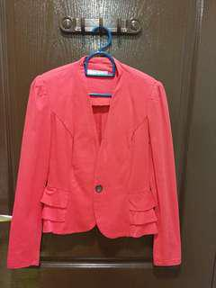 Candy pink jacket/blazer