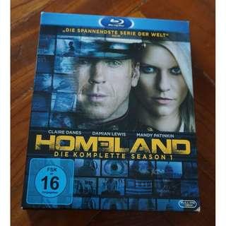 BLURAY Homeland Season 1 (English and German)