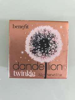 Benefit twinkle highlighter