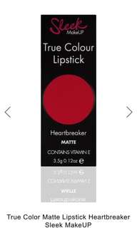SLEEKMAKEUP TRUE COLOR LIPSTICK