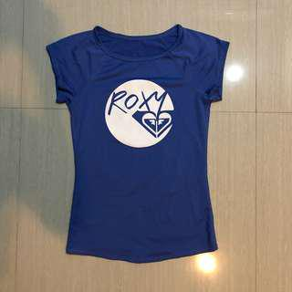 Roxy swim top swimsuit rash guard