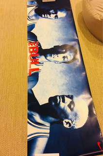 "🚚 1996 Vintage Nike No Bull Poster 72"" x 23"""