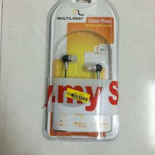 Multilaser Earphone with Microphone