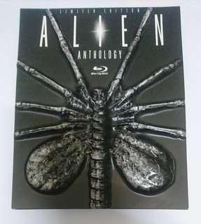 意大利 異形四部曲 凸蟲版 有中字 六碟 藍光 絕版 Italy Alien Anthology 1-4 Facehugger OOP 6 Disc