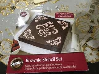 Brownie stencil