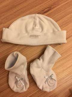 Mídes Hat and Bootie set