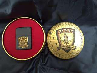 🚚 ZIPPO-諾曼第登陸D-DAY《50週年紀念》