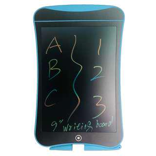"Colorful 9"" LCD Writing Tablet - Electronic Portable Writing Board"