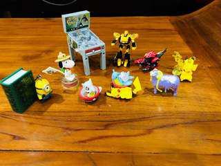Pokemon Figures / Gashapon Pokemon / Gashapon toys