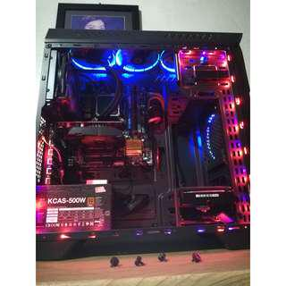 GAMING RIG CPU UNIT core i5 4670k /w GTX 750 ti (Liquid Cooled) HDD NOT INCLUDED