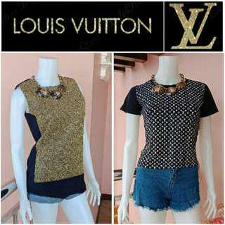 -Yunik- Authentic Louis Vuitton Tops
