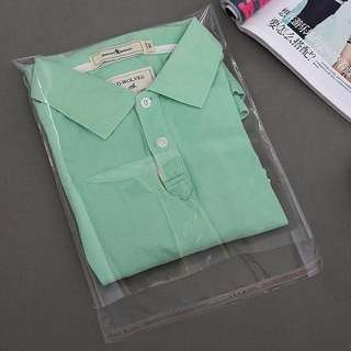 OPP Resealable Clothes Packaging