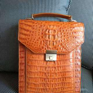 Crocodile Skin Handbag 鱷魚皮手袋