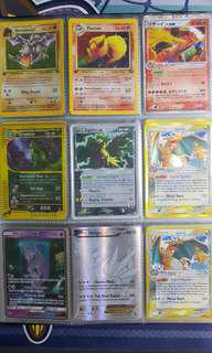 Assorted Pokemon Cards (mostly rare and holo)